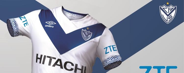 Velez llegó a un acuerdo de patrocinio con ZTE