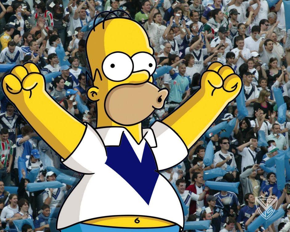 Homero Simpson Es De Velez Sarfield